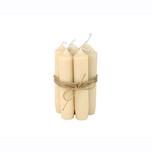 Short Dinner Candle_Cream1pcs