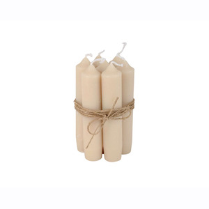 Short Dinner Candle_Sand1pcs