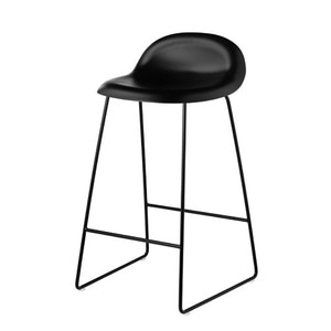 GUBI 3A Counter Stool SH65 Black sledge base 주문 후 4개월 소요