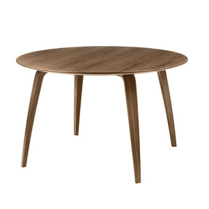GUBI Dining Table Round Walnut 주문 후 4개월 소요