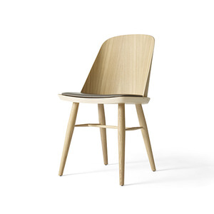 Synnes Dining Chair, Silk Natural Oak/Grey Brown