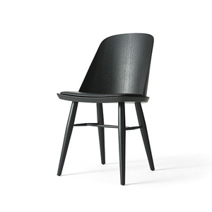 Synnes Dining Chair, Silk Black Ash/Black