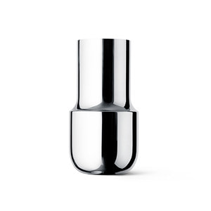 Tactile Vase Tall Stainless Steel