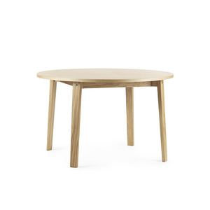 Slice Table vol. 2 oak Ø120 cm