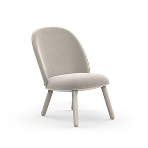Ace lounge chair  Velour Beige