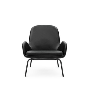 Era lounge chair Low steel leather   주문 후 4개월 소요