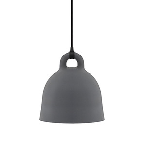 Bell Lamp Large grey