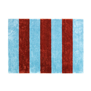 Pavilion Rug 200x280 cm  powder blue/rust  주문 후 3개월 소요