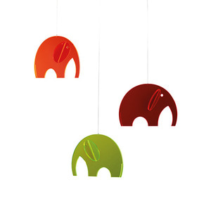 Olephants (plexiglass)