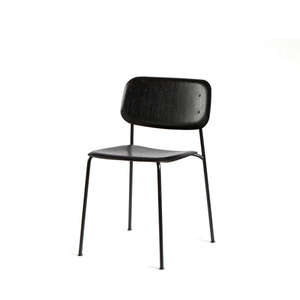 Soft Edge 10  Black Seat/Black Steel Legs  주문 후 3개월 소요
