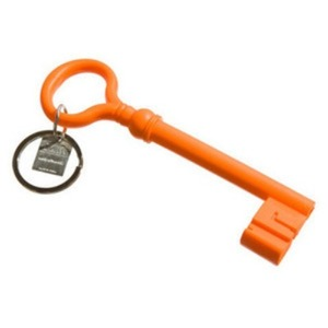 Reality Keychain Key  Orange