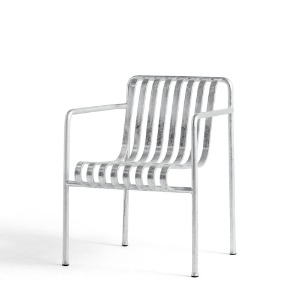 Palissade Dining ArmChair  Hot Galvanized